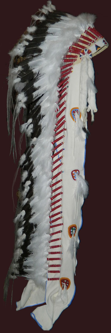Plains Indian Trailer Headdress