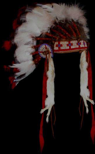 Plains Indian headdress
